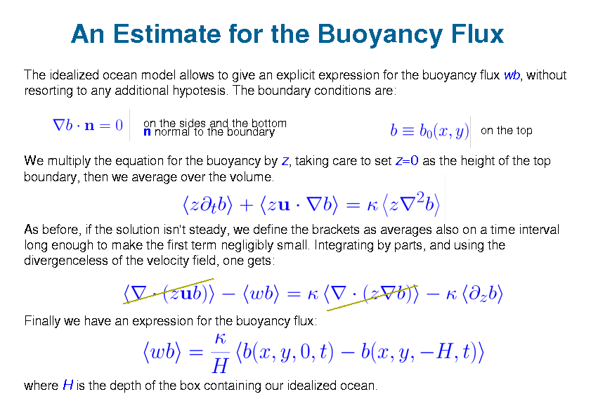 The Antiturbulence Theorem - An Estimate for the Buoyancy Flux